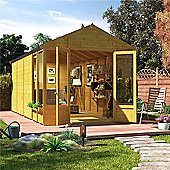 BillyOh Holly Tongue and Groove 16x8 T&G Apex Summerhouse