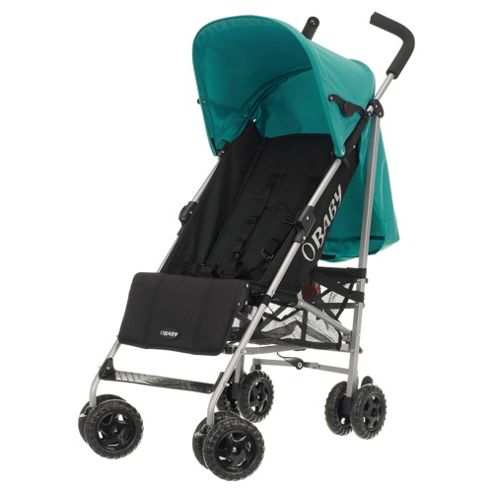 Obaby Atlas Stroller, Black/Turquoise