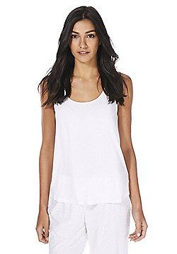 F&F Swing Lounge Vest - White