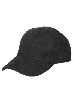 F&F All Over Lace Cap Black One Size