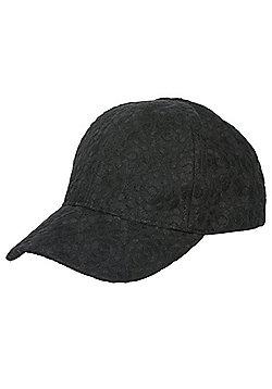 F&F All Over Lace Cap - Black