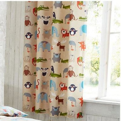Buy Animal Kingdom Eyelet Curtains 72s from our Eyelet Curtains ...