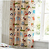 Animal Kingdom Eyelet Curtains 72s