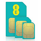 EE 4G £10 Everything Pay as you go SIM Pack