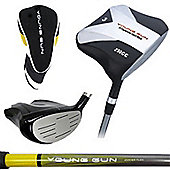Young Gun Golf Clubs Kids Square Junior 3 Wood Right Hand Age 9-11