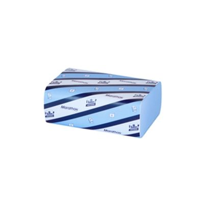 Lotus Z-Fold Hand Towel Blue Pack of 250 Pack of 6 J95237B