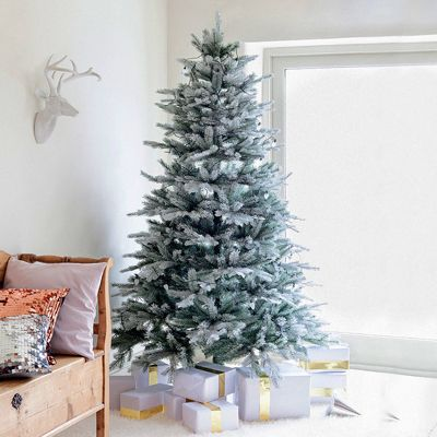 Kaemingk 5ft Frosted Vermont Spruce Artificial Christmas Tree
