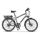 Wisper 905 Torque Cross Bar Electric Bike 16Ah Silver