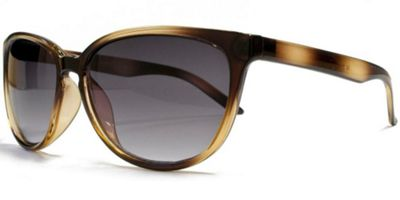 Glare Eyewear Small Cateye Sunglasses Havana