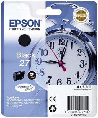 Epson C13T27014022 6.2ml 350pages 300pages Black ink cartridge