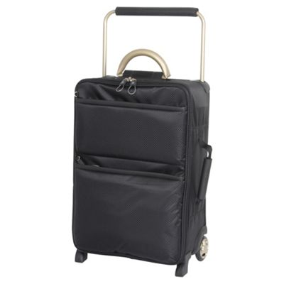 buy it luggage world 39 s lightest suitcase black extra. Black Bedroom Furniture Sets. Home Design Ideas