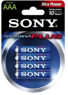Sony Stamina Plus Alkaline 1.5V non-rechargeable battery