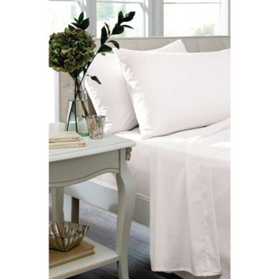 Catherine Lansfield Home Housewife Pillowcases - White
