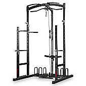Marcy Eclipse RS5000 Power Rack Home Gym with High & Low Pulley System