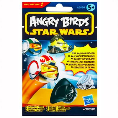 Star Wars Angry Birds Mystery Foil Pack