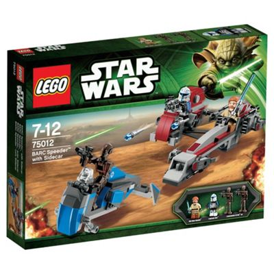 LEGO Star Wars BARC Speeder with Sidecar 75012