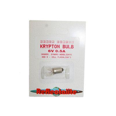 Reflectalite Bulb 6v .5A Screw Fit Krypton