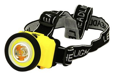 Rolson LED & COB Head Lamp