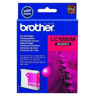 Brother Magenta Ink Cartridge LC1000M