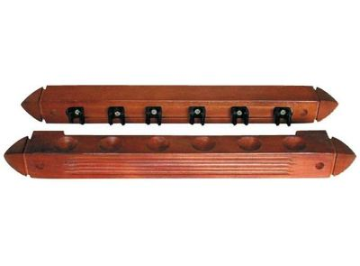 Wall Mounted Cue Rack For 6 Cues