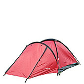 North Gear Camping Mono 2 Man Waterproof Dome Tent Red
