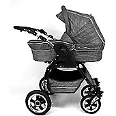 Davos Lucky 2 in 1 Pushchair (Grey Linen)