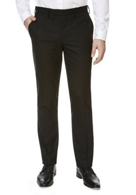 F&F Slim Fit Trousers 42 Waist 33 Leg Black