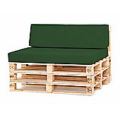Water Resistant Pallet Small Back Cushion - Green