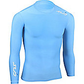 Subsports Cold Long Sleeve Thermal Top Adult - Blue
