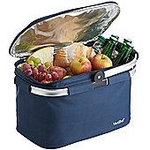 VonShef 22L Large Insulated Picnic Cooler Bag - Navy