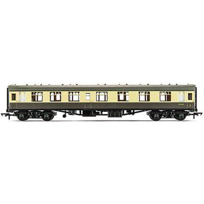 Hornby R4353 270mm BR Mk1 Corridor Composite Coach (Chocolate/Cream) 00 Gauge