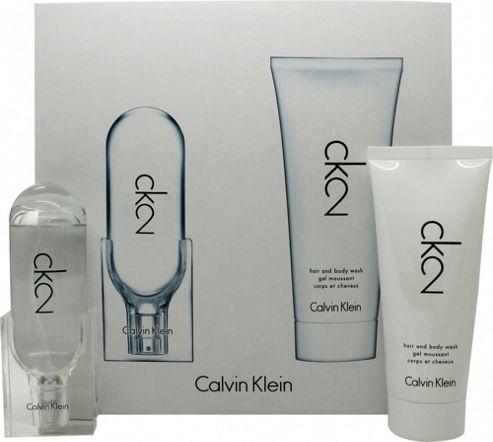 Calvin Klein CK2 Gift Set 50ml EDT + 100ml Shower Gel