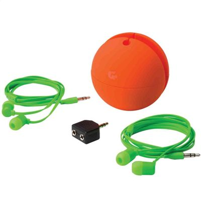 Goodmans GCREWBUDO Travel Buds Gift Set Orange