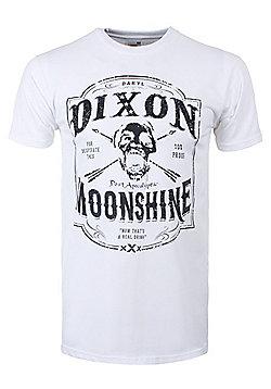 The Walking Dead Dixon Moonshine White Men's T-shirt - White
