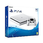 PS4 Slim 500GB White Console (D Chassis)