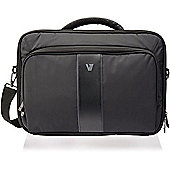 """V7 Professional II Frontloader Notebook Case 16"""" - notebook cases (Messenger, Black, Monotone, Leather, Nylon, Polyurethane, Scratch resistant, China)"""