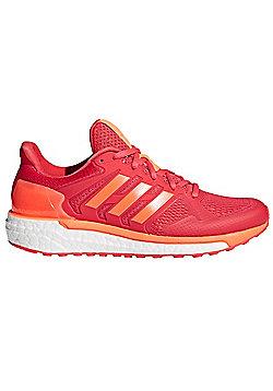 adidas Supernova ST Womens Running Trainer Shoe Coral/Orange - Pink