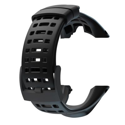 Suunto Ambit3 Peak or Ambit2 Black Elastomer Replacement Strap SS021085000