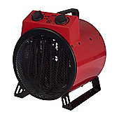 Igenix IG9301 3kW Commercial Drum Fan Heater - Red