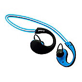 Groov-e GVBT800BE Wireless Sports Earphones with LED Neckband - Blue