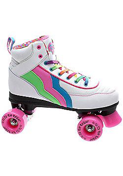 Rio Roller Classic II Candi Quad Roller Skates - White