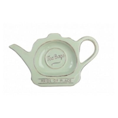 T&G Pride of Place Tea Bag Tidy Green