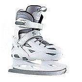 SFR Ice Skates - Eclipse White/Silver - White