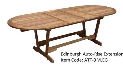 Royal Craft Edinburgh Double Extension Table