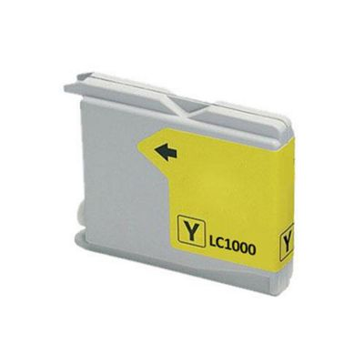 Brother LC1000Y Yellow Replacement Printer Ink Cartridge