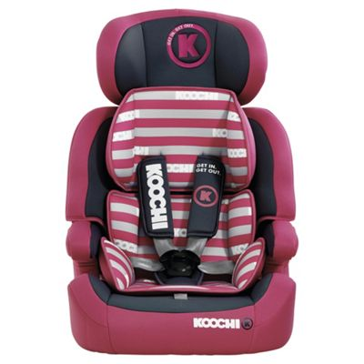 Koochi Moto Hero Group 123 Car Seat Mix Magenta