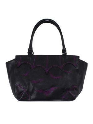 Banned Purple Bat City Women's Handbag
