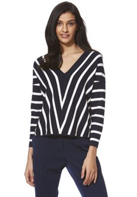 Only Striped Knitted Jumper Multi L
