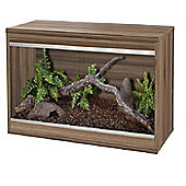 Viv-exotic repti-home vivarium Small - Walnut