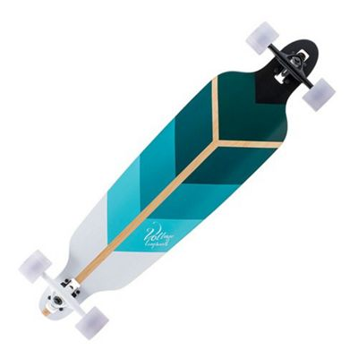Voltage VOLLB501 Directional complete Drop Through Longboard - Green
